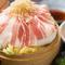 海鮮蒸し卵寄せ中華あんかけ