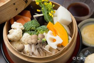 創作せいろ浅葱の料理・店内の画像2