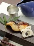 朝獲れの鮮魚をじっくり焼き上げます。