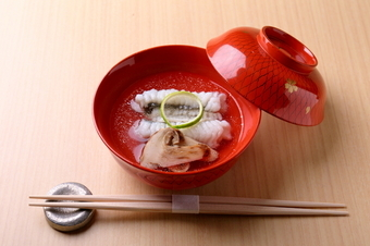 良い食材を使った和食コース。