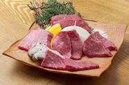 極上の味わいを食べ比べできる『特選和牛5種盛合せ』(1~2人様向け)