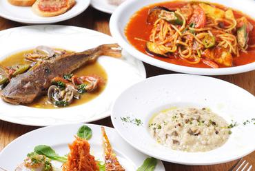 素材の味を最大限に引き出すよう調理された美味しい料理の数々。