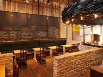 築80年の米蔵を改装した隠れ家的イタリアンレストラン