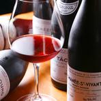 常時100種類、計400本を取り揃えているなど、ワインも充実しています。