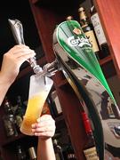 カールスバーグ生ビールをどうぞ
