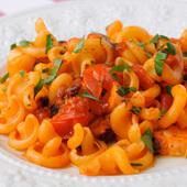ヴェスヴィオ(パスタ)・地タコ&トマトのソース