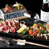 和食の職人が提供する和風創作料理