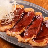 旨みが濃く、程よい歯ごたえの『北海道産 合鴨ロース焼き』