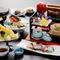旬の食材が美味しい! 季節の懐石料理(6480円コースの例)