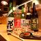 落ち着いた雰囲気の店内で新鮮食材とうまい酒を楽しむ和風居酒屋