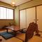 しっとりとした雰囲気の座敷個室は人数に応じてご用意