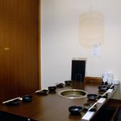 全席個室ですので、大切な方とのお食事に適してます。