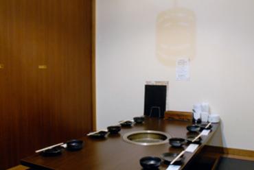 全席個室(写真は6名様用)