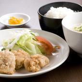 鶏の唐揚定食