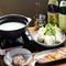 コラーゲンたっぷりの『白いスープの地鶏鍋』