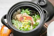季節の土鍋ご飯(2合)
