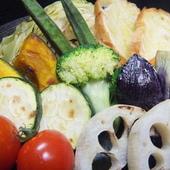 焼野菜のバーニャカウダ