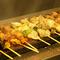 串焼もお酒のお供にピッタリ。職人の技とこだわりの食材たち