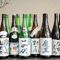 全国から集めた銘酒の数々。焼酎。日本酒、梅酒、果実酒