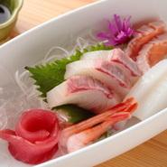 新鮮な食材で、旬が味わえる一品。
