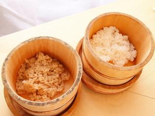 3種のシャリの元となるこだわりの「米」