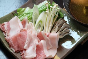 ★長谷川自然牧場産熟成ポークの豚しゃぶしゃぶ★