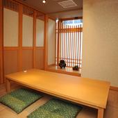 和モダンなデザインの店内で美味な料理をご堪能ください!