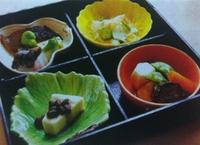月替わりお弁当(毎月四季に応じた食材で構成されます)