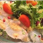 季節の旬魚をイタリアンで味わう『鮮魚のカルパッチョ』