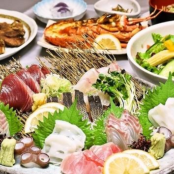 松竹梅コース(2時間飲み放題付・料理7品)