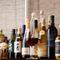 ワイン・シャンパン・焼酎・日本酒などお酒を豊富に取揃えてます