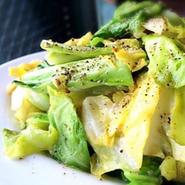 山椒を効かせた、爽やかなクレソンと旨味たっぷりの釜揚げしらすのサラダ!