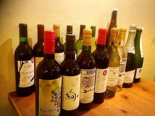 今注目の日本ワイン!グラスで飲めます!