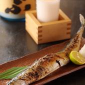 新鮮な魚介類を使った料理は日本酒などとの相性も抜群です。