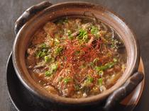 じっくり時間を時間をかけて煮込んだ「牛すじの韓国鍋」