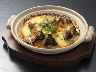 茄子味噌チーズ焼き