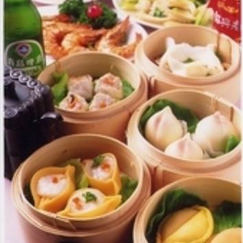 【お昼限定】出来たて飲茶&本格中国料理『35種』食べ放題