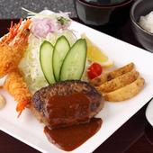 「さくさくの天ぷら」この天ぷらの付く御膳も有ります。