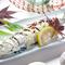 郷土料理の「くされ寿司」。いわしの甘みがぐっと引き立ちます。