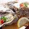 肉厚でプリプリ、濃厚な味わいが特徴の岩ガキは5月~8月が旬。