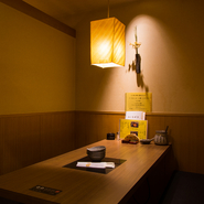 【北海しゃぶしゃぶ北2条店】では、半個室が2名から利用可能。デートや接待など、大切な人との時間に活躍してくれるお店です。