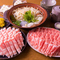 『ラム肉&三元豚のしゃぶしゃぶ 120分食べ飲み放題コース』
