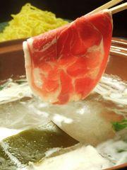 2時間食べ放題 高級ラム肉と三元豚しゃぶしゃぶ