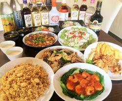 【クーポン提示で120分飲み放題に!】料理8品、飲み放題付(90分)のお手軽宴会プランです!