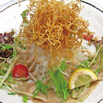 パリパリ蕎麦サラダ
