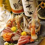 旬の鮮魚 盛合せ