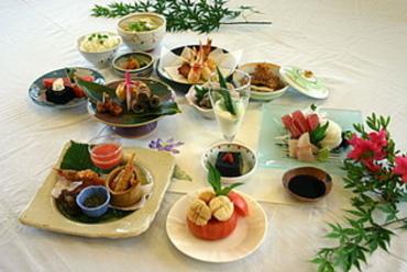 会席料理コース