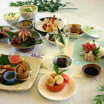 会席料理コース 「3000円~」 (飲み放題付き4200円~)