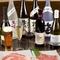 ワインやビール、和酒も当店の肉に合うお酒を豊富にご用意。