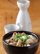 七夕名物! 豆腐と鶏皮の煮込み